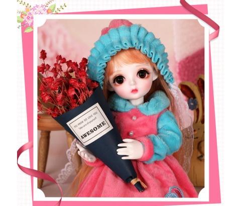 ドール本体 Miu 女の子 BJD人形 SD人形 1/6サイズ 人形ボディ