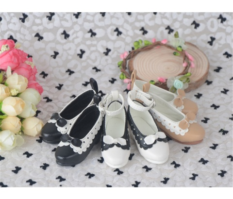 Bjd靴 ドール靴 蝶結び ロリータ 人形靴 1/3 1/4 単独で購入できない