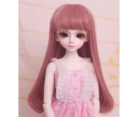人形ウィッグ BJDウィッグ 浅金色 微々巻き髪 1/4 単独で購入できない