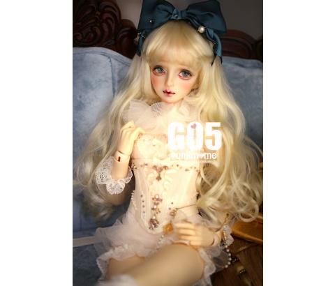ドール用ウィッグ 人形ウィッグ 1/3/1/4/1/6サイズ  BJD SD 金色/銀色あり