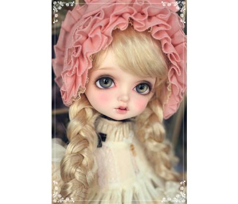 人形ウィッグ BJDウィッグ Bambi ロングヘア 長巻き髪 1/4 単独で購入できない