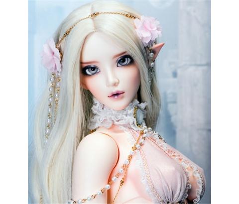 ドール本体 Chloe Elf feeple FL BORY 65cm 女 BJD人形 SD人形 1/3