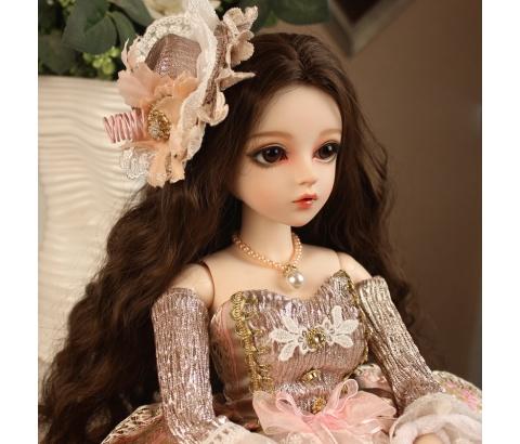 大セット ドール本体 Doris Doll ウエディングドレス プリンセスセット BJD人形 SD人形 60cm