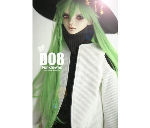 ドール用ウィッグ 人形ウィッグ 1/3サイズ  BJD SD 緑色あり