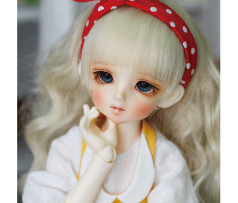 ドール本体 CRBOI Heidi 疑問符 ドールボディー 女の子 BJD人形 SD人形 1/4