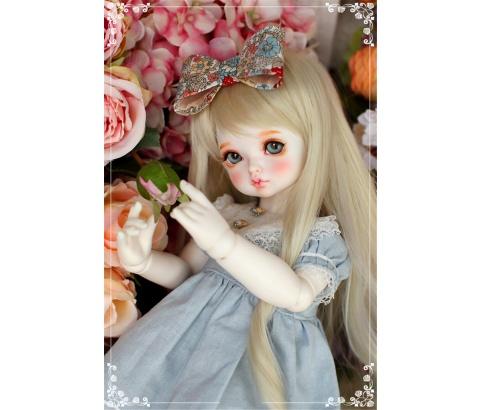 ドール本体 RL child Ribbon 巨児 ドールボディー 女 BJD人形 SD人形 1/4