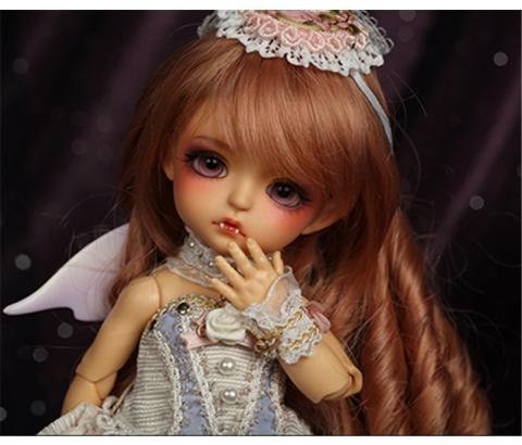 ドール本体 Bat Children ver. Sp.Lea BJD人形 女の子 SD人形 1/8