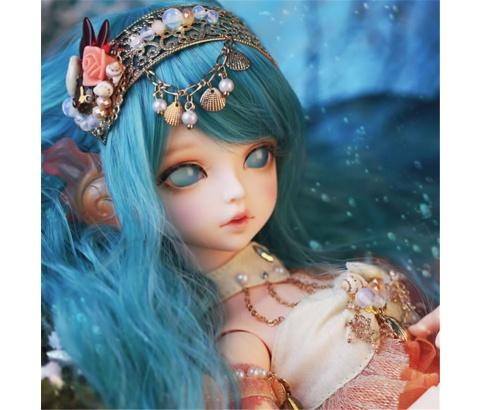 ドール本体 Soom Serin & Rico 人魚 マーメード 女の子 BJD人形 SD人形 1/4