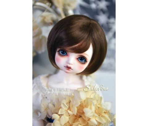 ドール用ウィッグ  人形ウィッグ  ショート髪 1/3/巨児サイズ 超柔らかい糸 BJD SD
