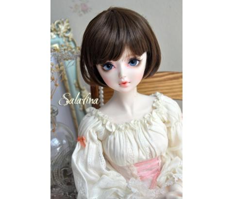 ドール用ウィッグ  人形ウィッグ  超柔らかい糸 少女感 ショートヘア 1/3/1/6サイズ BJD SD