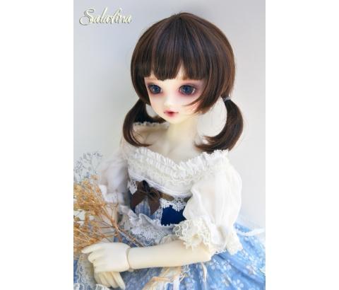 ドール用ウィッグ  人形ウィッグ  1/3/1/4/1/6サイズ 超柔らかい糸 ショートヘア