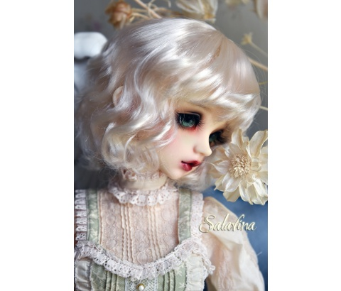 ドール用ウィッグ  人形ウィッグ 可愛いショートヘア 1/6サイズ 超柔らかい糸 BJD SD