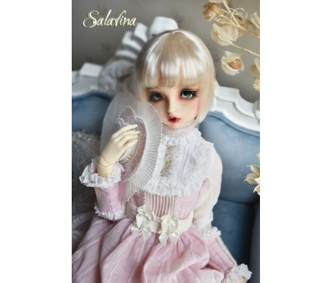 ドール用ウィッグ  人形ウィッグ 日常ショートヘア 1/3/1/4/1/6/1/8サイズ 超柔らかい糸 SD BJD