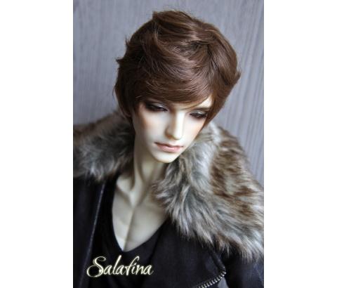 ドール用ウィッグ  人形ウィッグ 男性 日常ショートヘア 超柔らかい糸 1/3/1/4/1/6サイズ