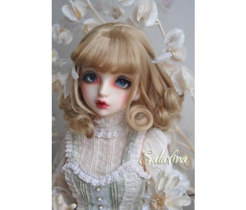 ドール用ウィッグ  人形ウィッグ 欧米スタイル 1/3/1/4/1/6サイズ 高温糸 BJD SD
