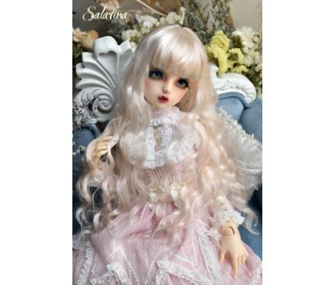 ドール用ウィッグ  人形ウィッグ 月の女神 ロングヘア 1/3/1/4/1/6サイズ 超柔らかい糸 BJD SD