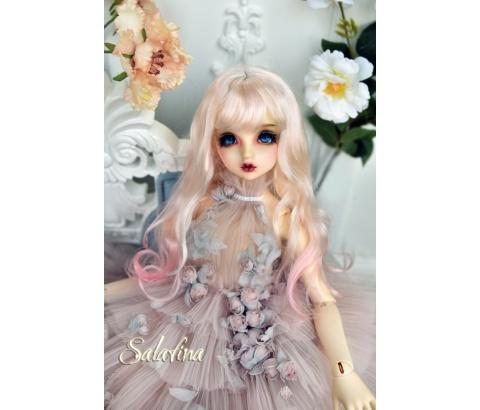 ドール用ウィッグ 人形ウィッグ ショートヘア ロングヘア 弁髪 1/3/1/4/1/6サイズ 超柔らかい糸 BJD SD