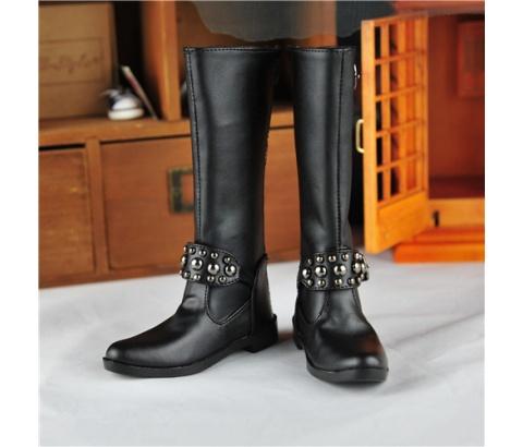 BJD靴  ドール靴 男用 人形靴 長ブーツ 1/3サイズ