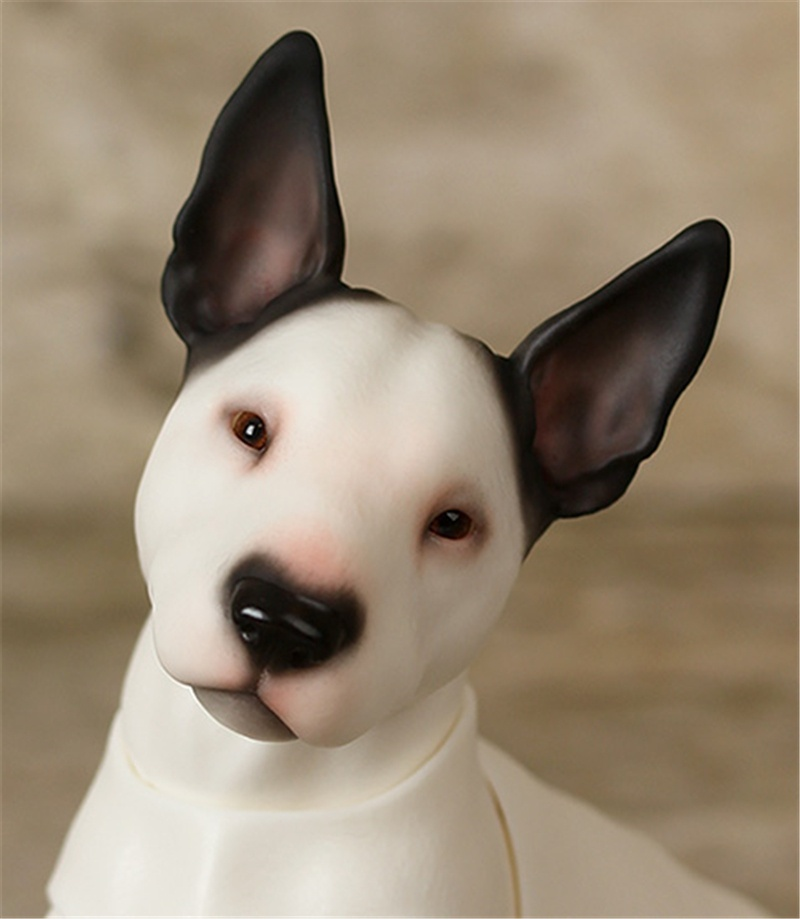 No Make UP 1//6 BJD Doll SD Doll Bull Dog Pet