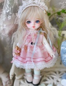ドール本体 バンビ Roselied Monday's Child Bambi BJD人形 SD人形  1/8