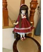 ドール衣装  赤いスカート ワンピース BJD衣装 1/3/1/4/1/6サイズ