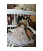 ドール衣装  ワンピース ピンク スカート BJD洋服 1/3/1/4/1/6サイズ BJD衣装
