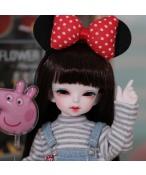ドール本体 Cheshire cat 女の子 BJD人形 SD人形 1/6サイズ 人形ボディ