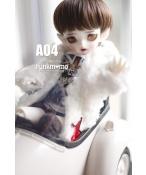 ドール用ウィッグ  人形ウィッグ ショートヘア 1/6サイズ 高温糸 BJD SD(ブラウン)