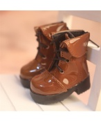 Bjd靴 ドール靴 ブラウン革靴 男女 人形靴 1/6 単独で購入できない