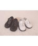 Bjd靴 ドール靴 ミニマリズム 黒白 人形靴 1/4 単独で購入できない