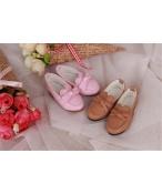 Bjd靴 ドール靴 蝶結びモカシン 人形靴 1/4 単独で購入できない