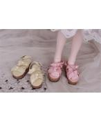 Bjd靴 ドール靴 蝶結びサンダル 人形靴 1/4 単独で購入できない