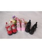Bjd靴 ドール靴 心の形 ハイヒール 人形靴 1/4 単独で購入できない