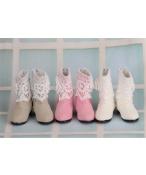 Bjd靴 ドール靴 レース 長靴 人形靴 1/4 単独で購入できない