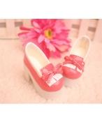 Bjd靴 ドール靴 ピンク クッセル 人形靴 1/4 単独で購入できない
