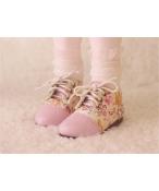 Bjd靴  ドール靴 清新 花柄 人形靴 1/4 単独で購入できない