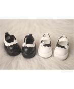Bjd靴 ドール靴 縁飾り モカシン 人形靴 1/6 単独で購入できない