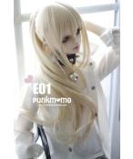 ドール用ウィッグ 人形ウィッグ 1/3サイズ  BJD SD 黒色/紺色/金色/紫色あり