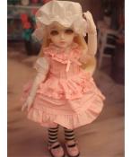 ドール衣装 ピンクスカート BJD衣装 1/6 サイズが注文できる
