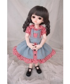 ドール衣装 赤いスカート BJD衣装 1/4 サイズが注文できる