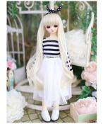 ドール衣装 白いスカート 清新風スーツ BJD衣装 1/4 サイズが注文できる