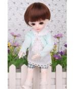 ドール衣装 碧色 かわいいスーツ BJD衣装 1/3 1/4 1/6 サイズが注文できる