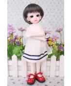 ドール衣装 可愛い 白スカート BJD衣装 1/6 サイズが注文できる