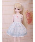 ドール衣装 空色洋服 スカート BJD衣装 1/4 サイズが注文できる