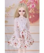 ドール衣装 花柄スカート レース BJD衣装 1/4 サイズが注文できる