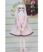 ドール衣装 ピンクスカート BJD衣装 1/4 サイズが注文できる