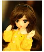 ドール本体 Lab Chibi Moe Ren Tsubaki 女の子 BJD人形 SD人形 1/6サイズ 人形ボディ