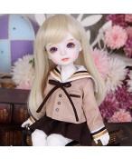 ドール本体 gaby 女子学生 女の子 BJD人形 SD人形 1/6サイズ 人形ボディ