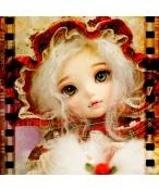 ドール本体 littlefee chloe 女の子 BJD人形 SD人形 1/6サイズ 人形ボディ