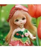 ドール本体 Tulip Secret Garden 女子 BJD人形 SD人形 1/8サイズ 人形ボディ